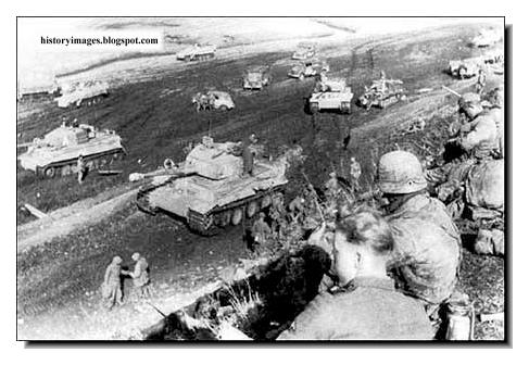Counter attack save German forces Tarnapol