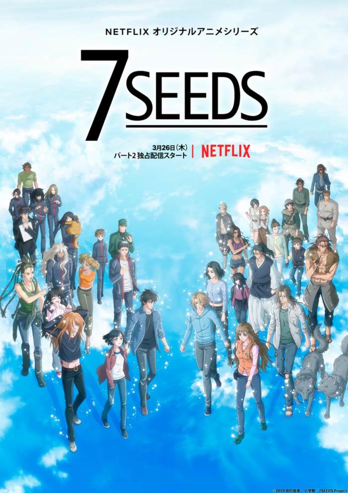 7 Seeds anime (Netflix) - Temporada 2 poster