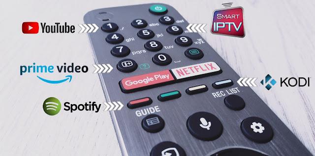 Editar botones mando Android TV