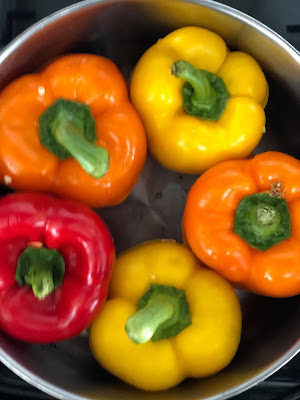stovetop method for stuffed peppers