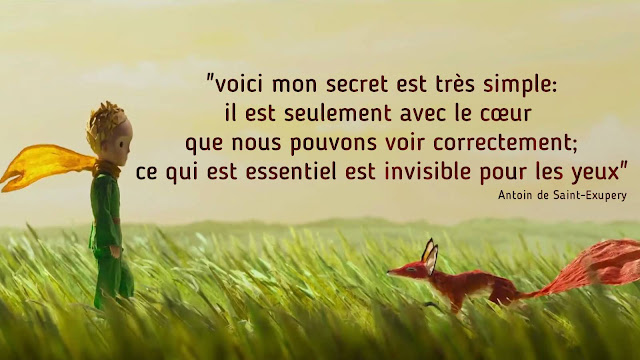 le petit prince citation