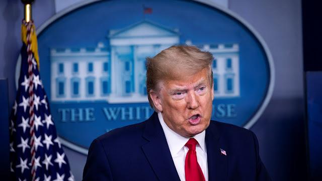 Trump dice que EE.UU. puede hallar un modo mejor de usar los 500 millones de dólares que destina a la OMS