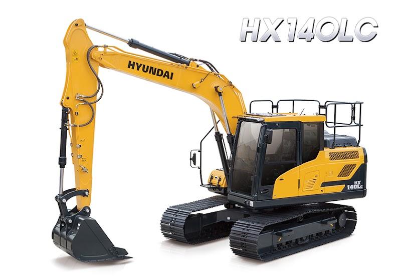 Hyundai Excavators HX140LC
