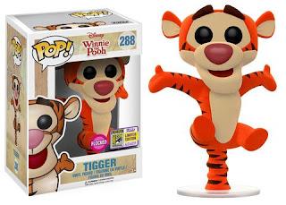 Pop! Disney: Winnie the Pooh – Bouncing Tigger (Flocked).