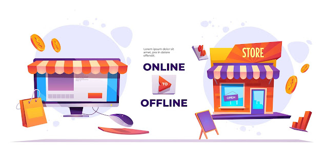 bisnis online atau bisnis offline