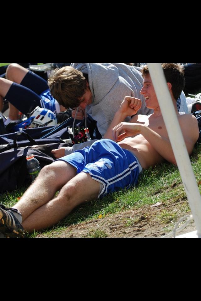 Straight guys touching bulge gay i 4