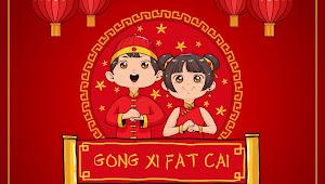 Gong Xi Fat Cai 2018!