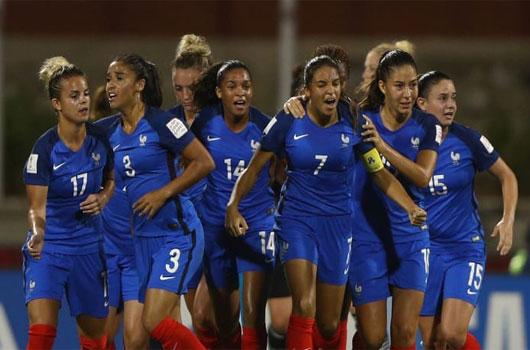 Nữ Pháp vs Nữ Na Uy 2h00 ngày 13/6 www.nhandinhbongdaso.net