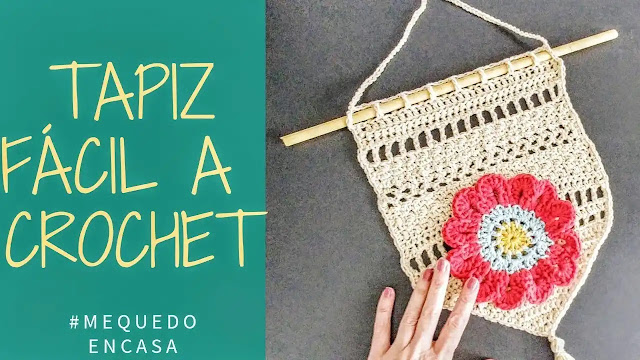 Tutorial Tapiz Sencillo a Crochet