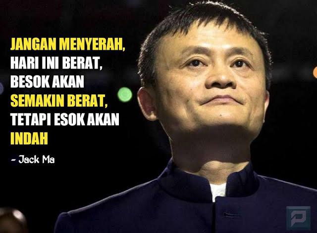 quotes inspiratif dari jack ma