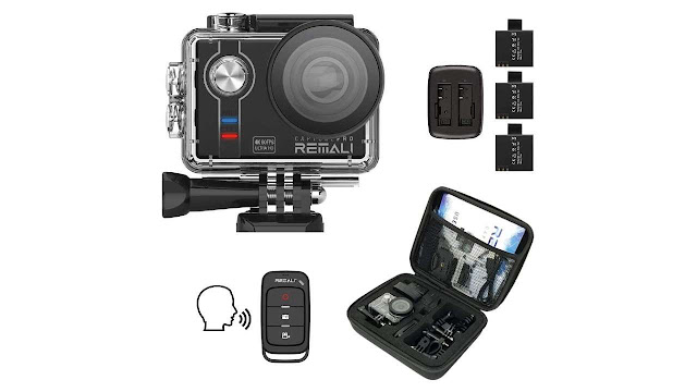 EMALI CapturePro Waterproof Sports Action Camera