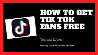 How to get Tik Tok fans free