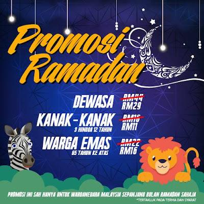 Zoo Negara Malaysia Ticket Discount Promotion