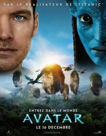 Avatar 2009 Hindi Dual Audio 750MB Extended BluRay 720p ESubs HEVC Free Download Watch Online downloadhub.in