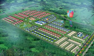 Quy mô dự án khu dân cư Lộc An
