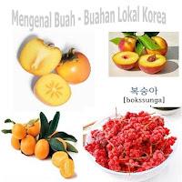 Jenis Buah - Buahan 과일   Lokal Khas di Korea Selatan