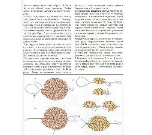 Схеми округлих і гострих пелюсток і листя  Схема маку  92285d7600895