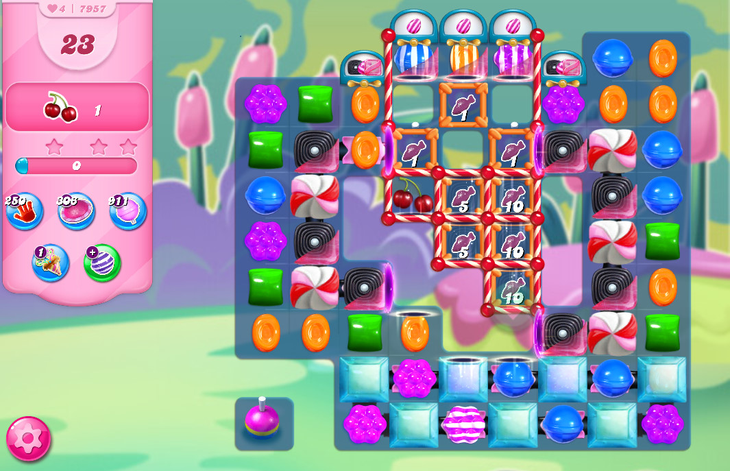 Candy Crush Saga level 7957