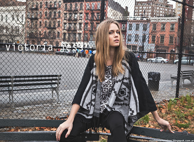 Moda urbana otoño invierno 2016 Victoria Jess.