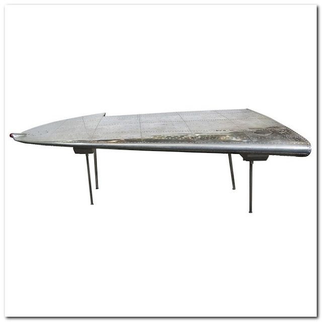 Airplane Inspired Coffee Table