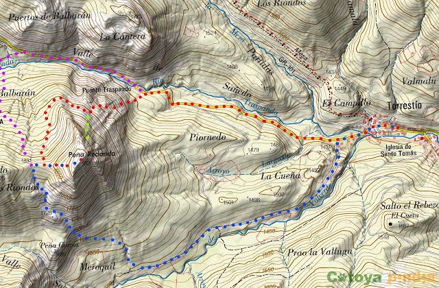 Ruta circular a Peña Redonda desde Torrestío (Babia, León)