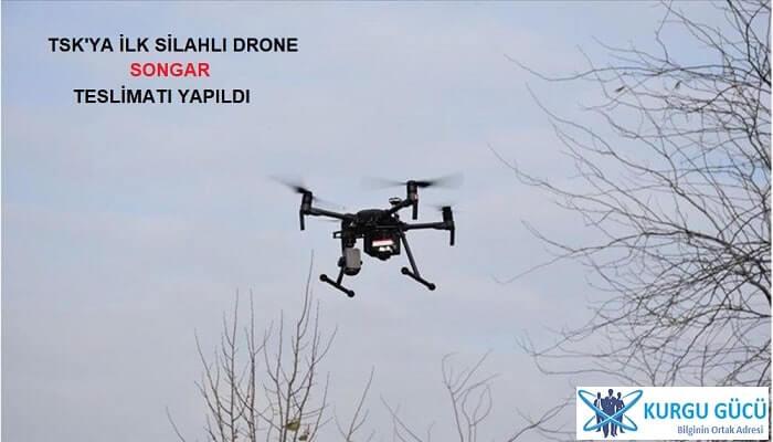 TSK'ya İlk Silahlı Drone 'Songar' Teslimatı Yapıldı - Kurgu Gücü