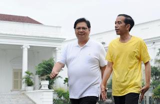 Jokowi Jadi Cawapresnya Airlangga Hartarto di Pilpres 2024?