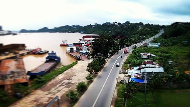 2 Foto Udara Destinasi Wisata Samarinda Seberang Yang Cukup Menarik