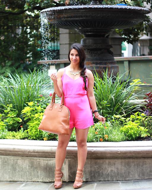 ROMPER FOR PEAR-SHAPES | Simply Sabrina | Atlanta Lifestyle Blogger