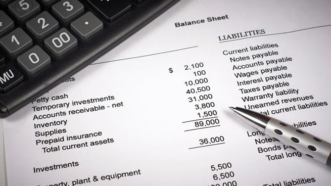 Formato de Balance - Excel