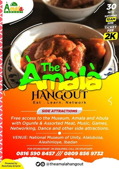 Everything You Need to Know About The Amala Hangout in Ibadan
