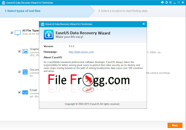 EaseUS Data Recovery Wizard Professional 10.0.0 Full + Crack โปรแกรมกู้คืนข้อมูล [One2up]