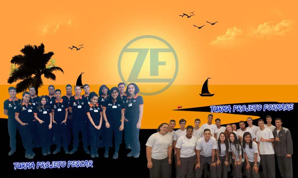 ZF investe continuamente em programas sociais de qualificação profissional para jovens em condições de vulnerabilidade social