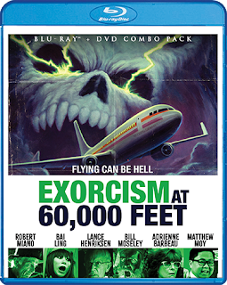 Vault Master's Pick of the Week of 05/05/2020 is Scream Factory's EXORCISM AT 60,000 FEET!