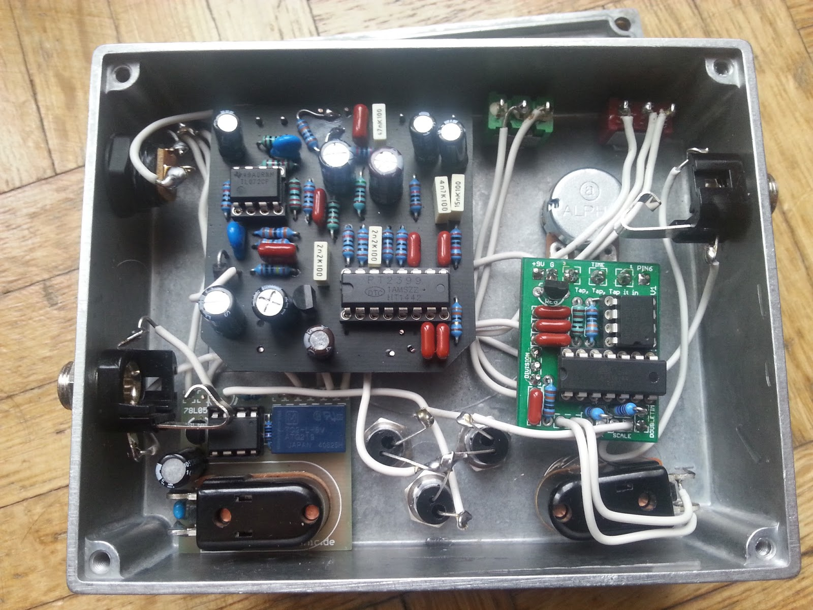 Schematic Further Pt2399 Delay Pedal Schematic On Diy A By Pedal