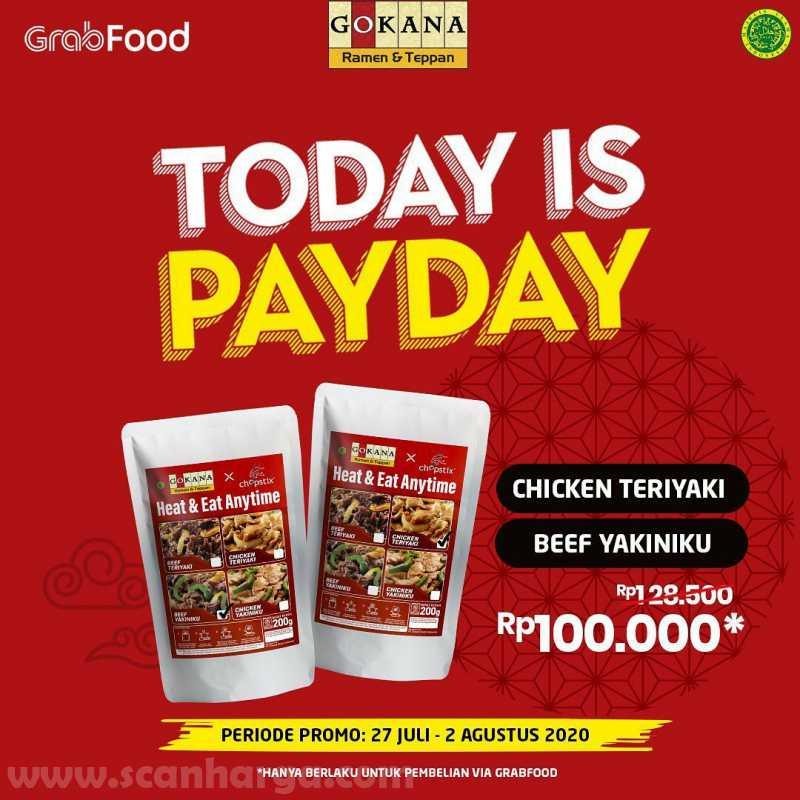Promo Gokana Payday Periode 27 Juli - 2 Agustus 2020 5