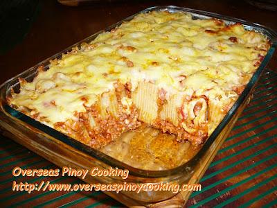 Baked Rigatoni Pinoy Style Baking Method