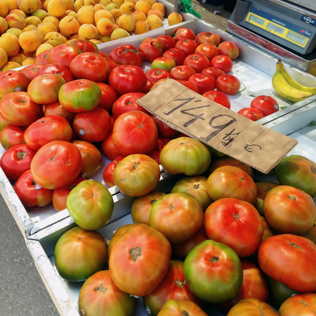 Tomatoes - fruit and veg - Lemon Tree Market, Guardamar del Segura