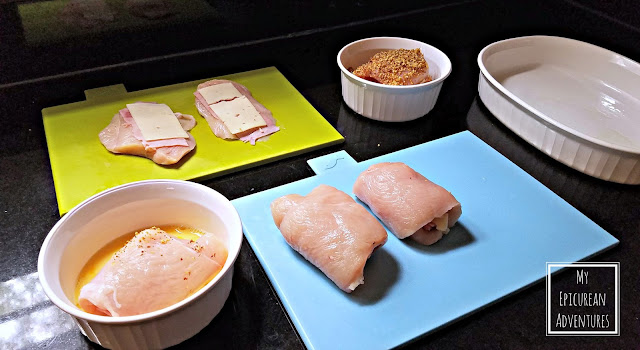 Homemade Martin's Breadcrumbs and Chicken Cordon Bleu and a fun #CookbookContest from Martin's @potatorolls #MoreThanaMeal
