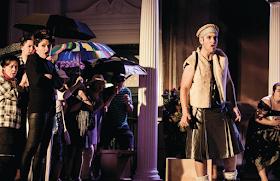 Offenbach: La belle Helene - Catherine Backhouse, Anthony Flaum - New Sussex Opera Photo Robert Knights