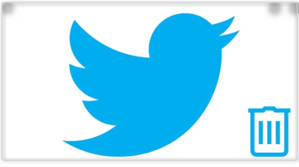 how to twitter account delete