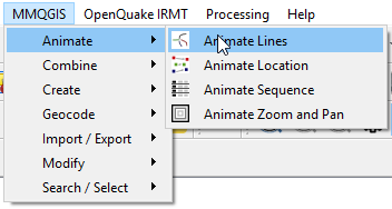 Create line animation