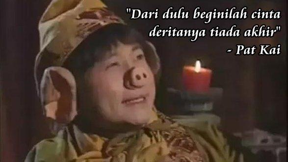Memaknai Cinta Dari Kisah Jendral Tian Feng Alias Chu Pat Kai Mogimogy