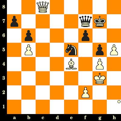 Les Blancs jouent et matent en 3 coups - Shakhriyar Mamedyarov vs Vitezslav Priehoda, Batoumi, 2002