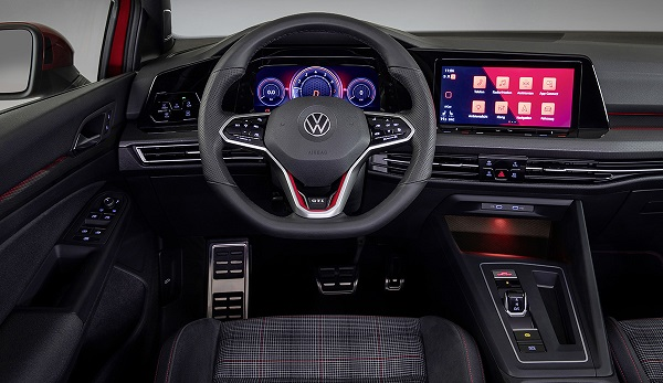 Interior Volkswagen Golf GTI 2020