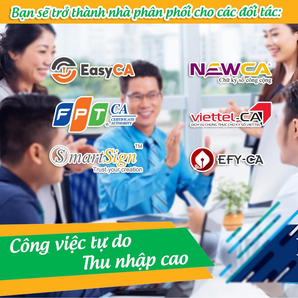 Tuyển cộng tác viên chữ ký số FPT-CA,CTV Easy-CA, CTV VIETTEL-CA, CTV VINA-CA, CTV NEWCA,CTV làm thêm, Làm CTV tăng thu nhập,Đăng ký cộng tác viên hoá đơn điện tử, tuyển cộng tác viên hoá đơn điện tử các tỉnh