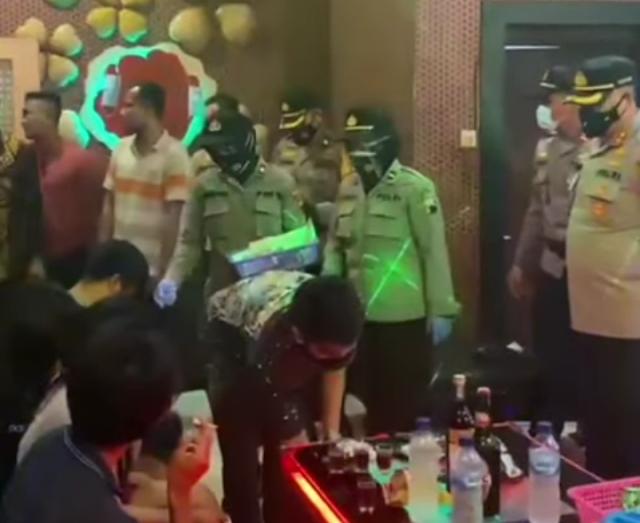 Polres Pati Gelar Operasi Gabungan Tempat Hiburan Amankan Puluhan Orang