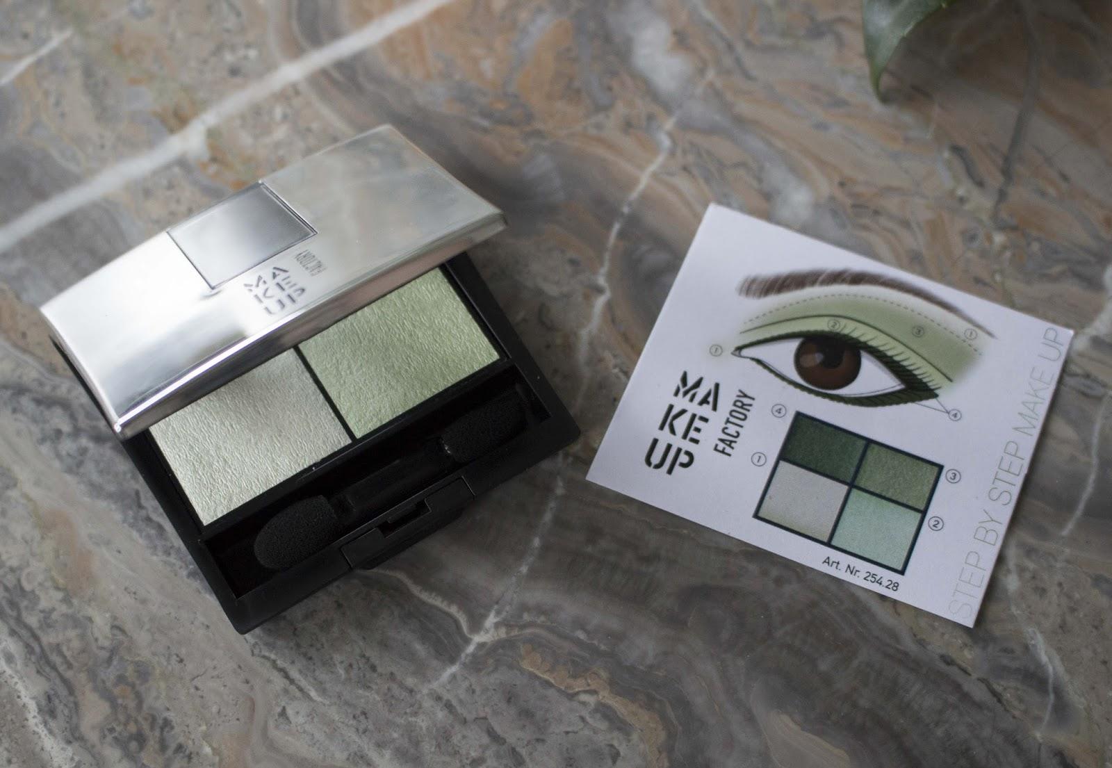 Make Up Factory Gruner Lidschatten Look Beautyinspiration