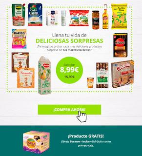 Degusta box de Enero por sólo 8,99€
