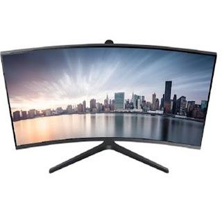 Monitor Komputer LED Samsung LC34H890WJE
